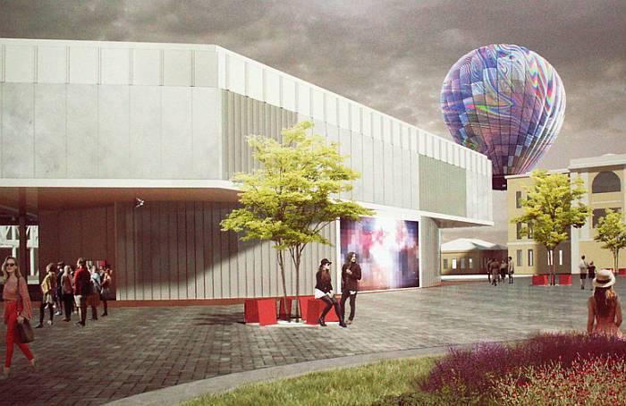 Здесь снова небом заживут воздушные шары. Фото В.В. Лебедева.