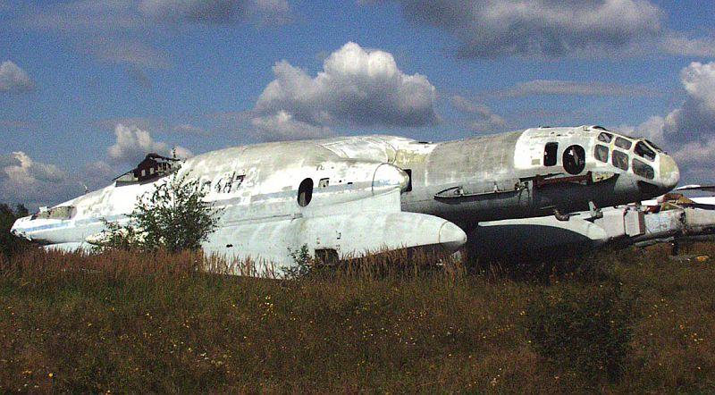 Остатки ВВА-14 в Музее ВВС в Монино.