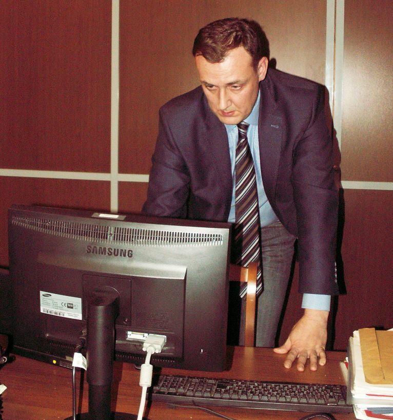 А.А. Лукьянов за презентацией сайта ivak.spb.ru