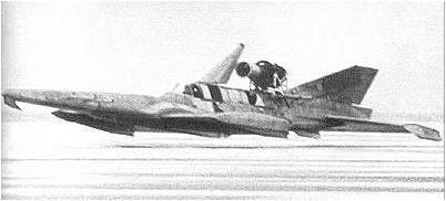 Опытный экраноплан СМ-1 во время испытаний, 1961 г.