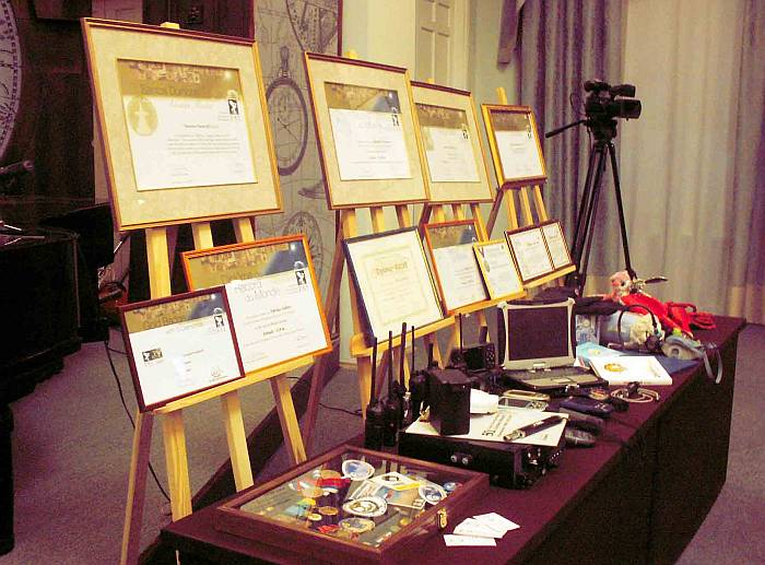 Выставка достижений отечественных воздухоплавателей. Фото В.В. Лебедева.