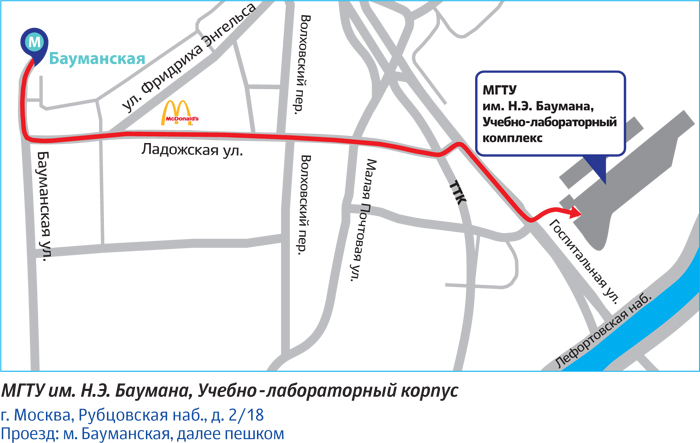 Схема проезда на Королёвские чтения
