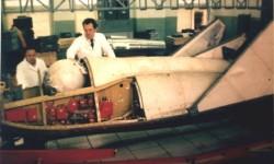 БОР-4 в сборочном цеху ГосНИИАС. Фото Т.В. Прыгичева.