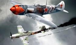 Самолёт-боец Ла-5 конструкции С.А. Лавочкина. Рис. из интернета.