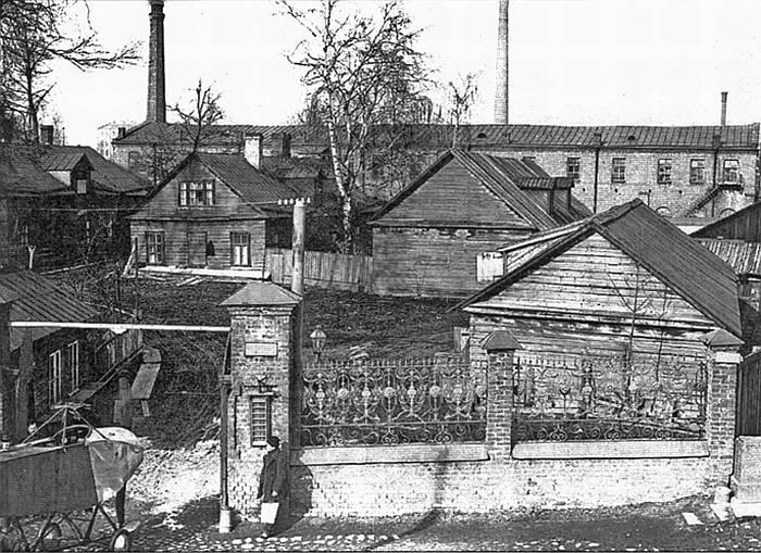 Фото Кузница РБВЗ на Чёрной речке в начале ХХ в.