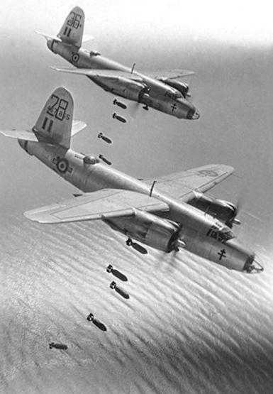 Бомбардировщики Б-26 «Мародёр» ВВС Франции