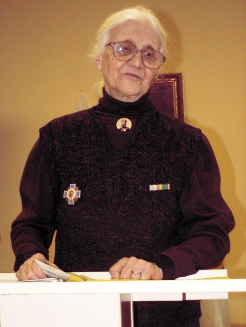 Внучка генерала Кованько - Е.Е. Сергеева