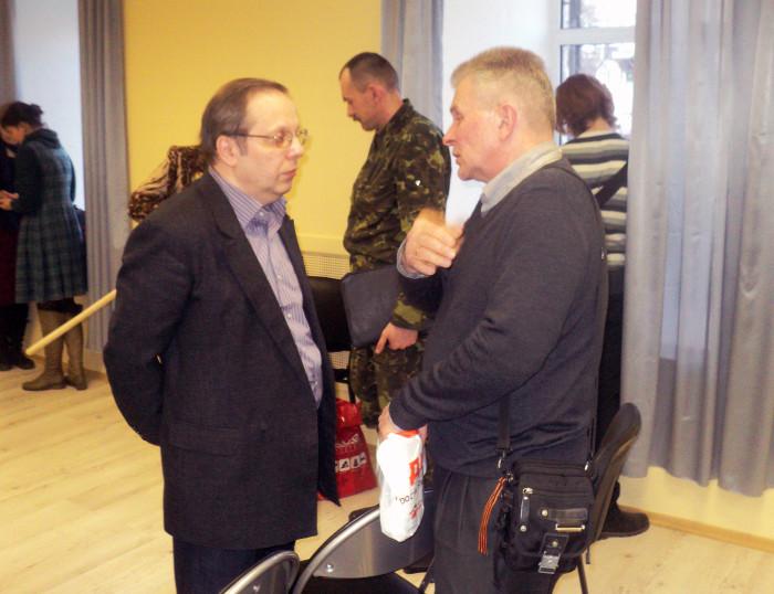 Обмен мнениями Виталия Лебедева и Дмитрия Юнгмейстера