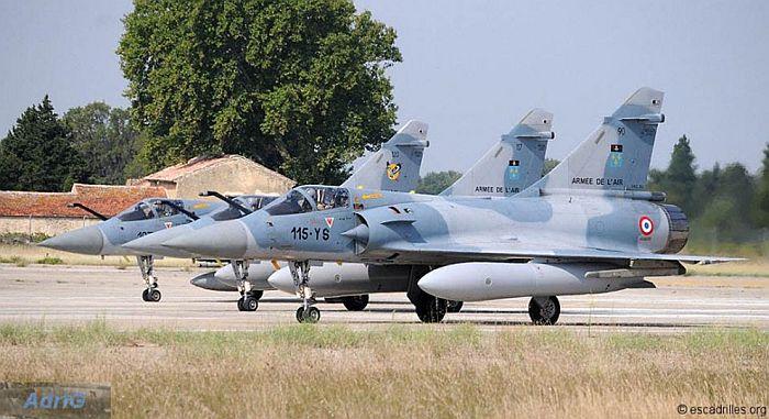 Самолеты авиагруппы на аэродроме