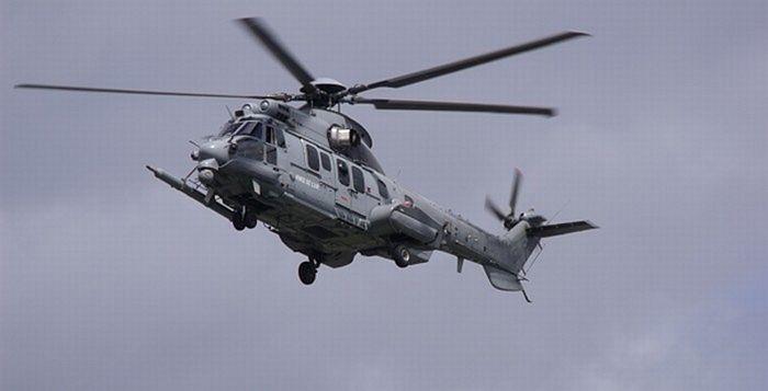 Вертолет «Каракал» авиагруппы «Воклюз