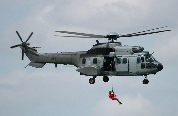 Вертолет «Кугар» авиагруппы «Воклюз».