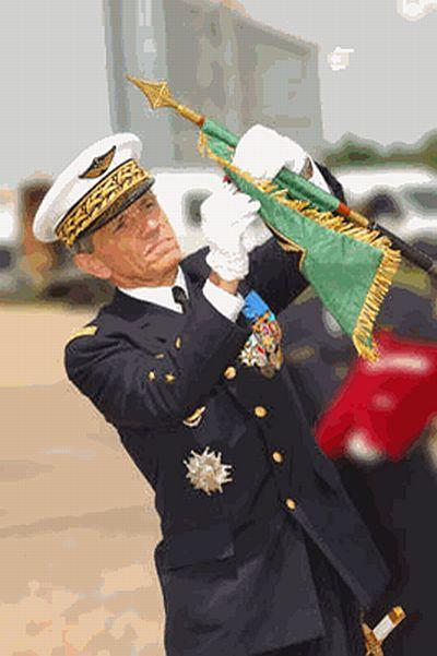 Фото командующего ВВС Франции Палмероса