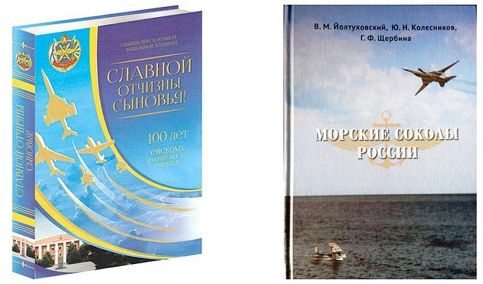 Фото обложек книг по истории авиации Вабищевич и Колесникова
