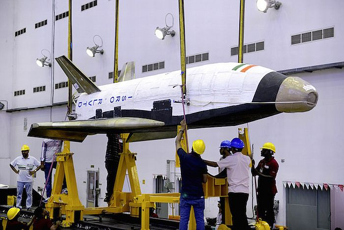 Индийский космический аппарат RLV-TD
