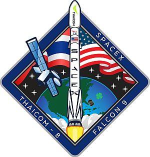 Эмблема SpaceX