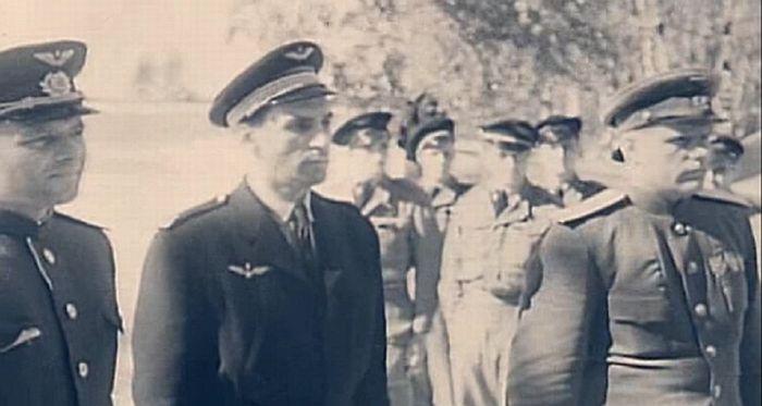 Награждение пилотов Нормандия-Неман