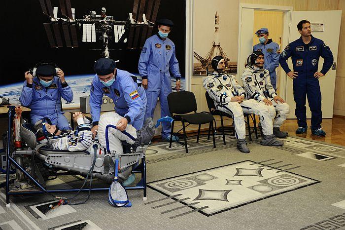 Фото космонавтов МКС на земле