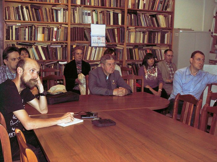 Тема заседания вызвала большой интерес у членов и гостей Секции истории авиации и космонавтики. Фото В.В. Лебедева