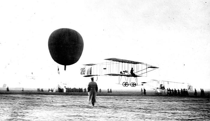 Первый Всероссийский праздник воздухоплавания, С.-Петербург, осень 1910 г.
