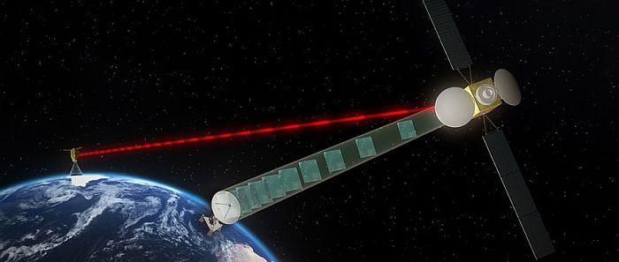 проект по питанию космических спутников с помощью мощных лазеров с Земли