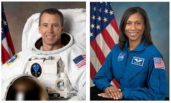 астронавты НАСА Эндрю Фойстел и Джанетт Эппс