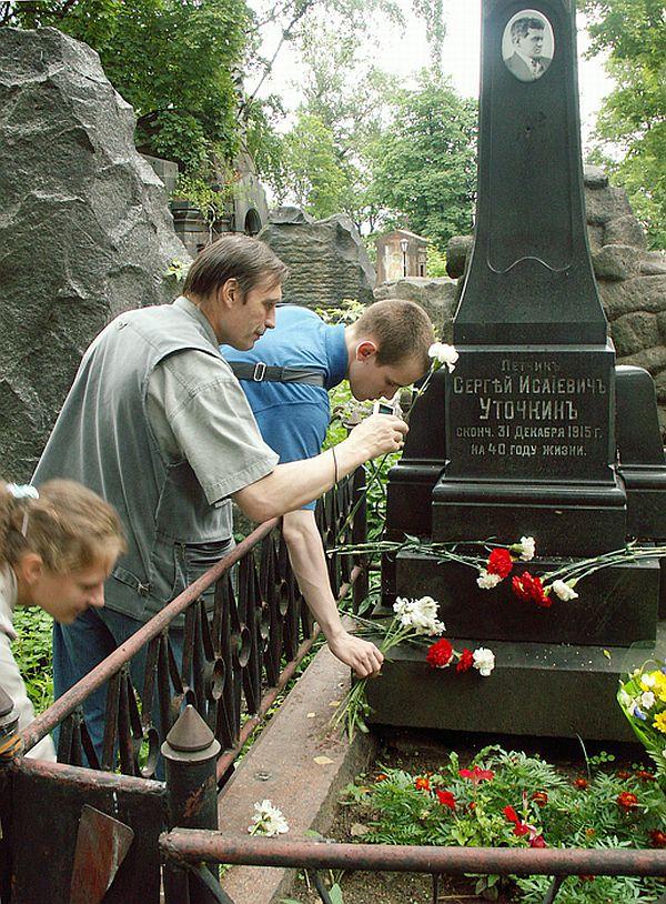 Фото могилы Уточкина