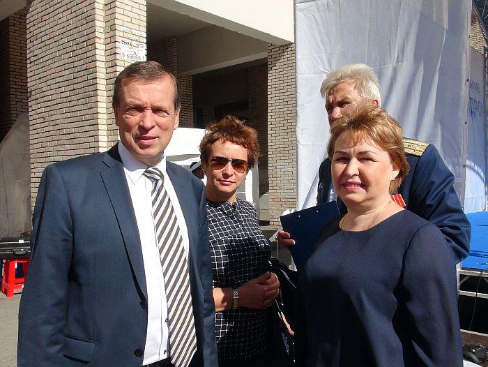 кандидат 2016 года в депутаты Государственной думы РФ Владимир Иванович Катенёв