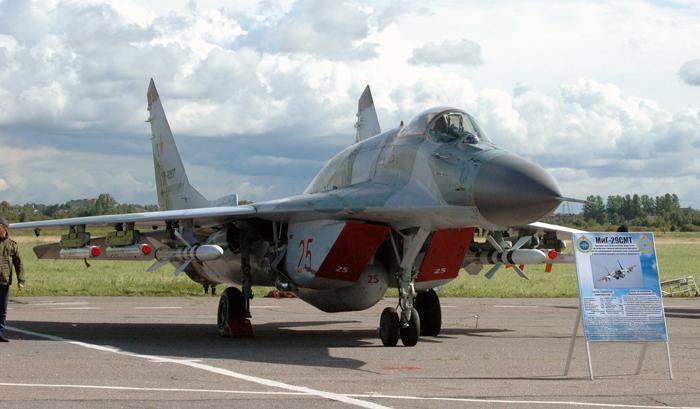 Многоцелевой фронтовой истребитель МиГ-29СМТ. Фото С.Н. Ганина
