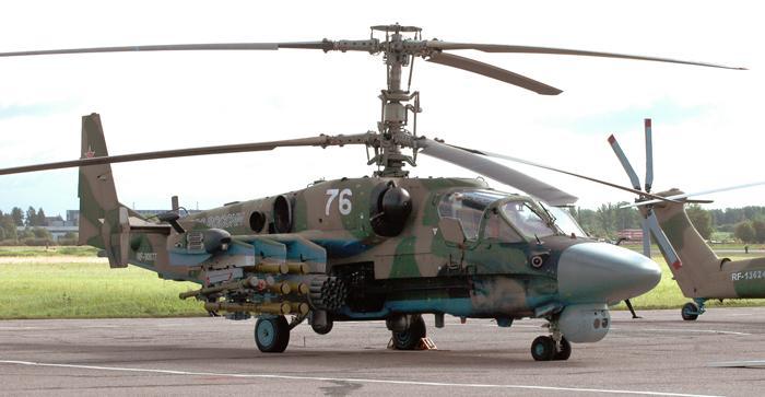 Летающий командный пункт Ка-52. Фото С.Н. Ганина.