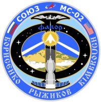 Фото эмблемы космического экипажа Союз МС-02