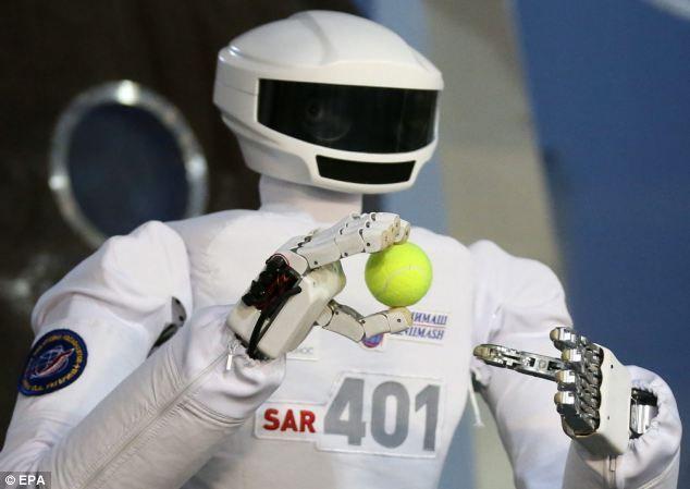 Робот для работы в космосе фото
