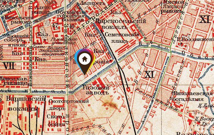 Дом Кованько на карте