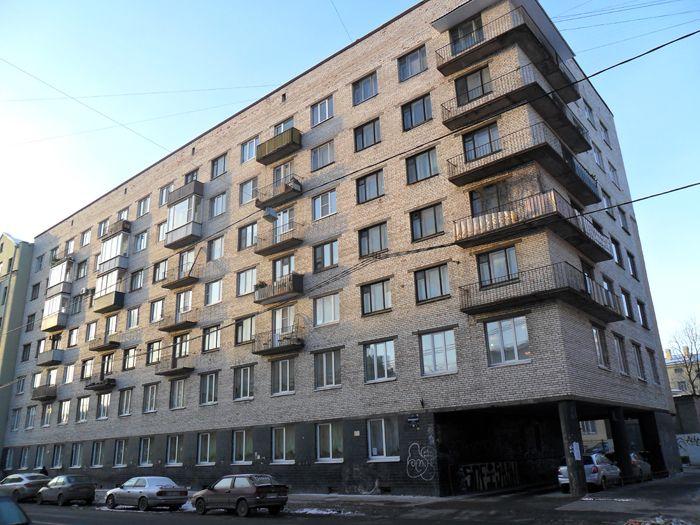 Дом, который предположительно находится ныне на месте дома А.М. Кованько в С.-Петербурге по улце Бронницкая, д.33.