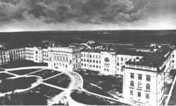 Здания Политихнического института в старину