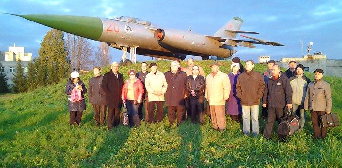 И конечно же, самолёт-памятник стал для нас очередной страницей истории 20-го АРЗ. Фото А.А. Лукьянова