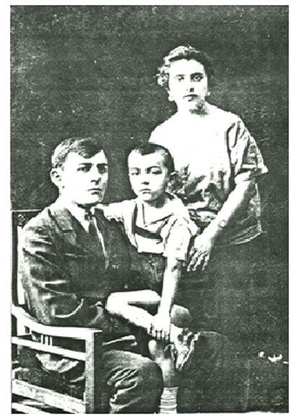 Александр Кемурджиан с родителями