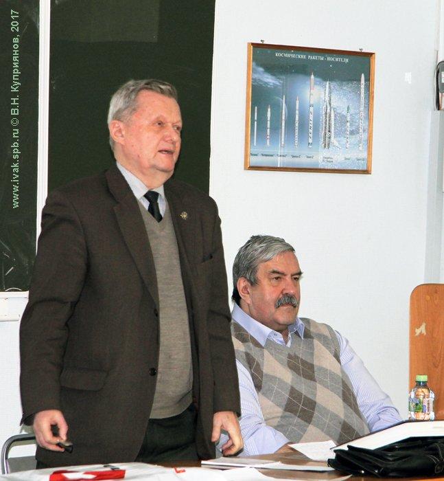 А.В. Дармограй и Сергей Михайлович Ганин