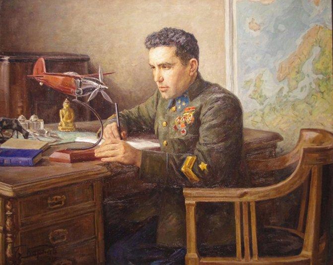 портрет Смушкевича