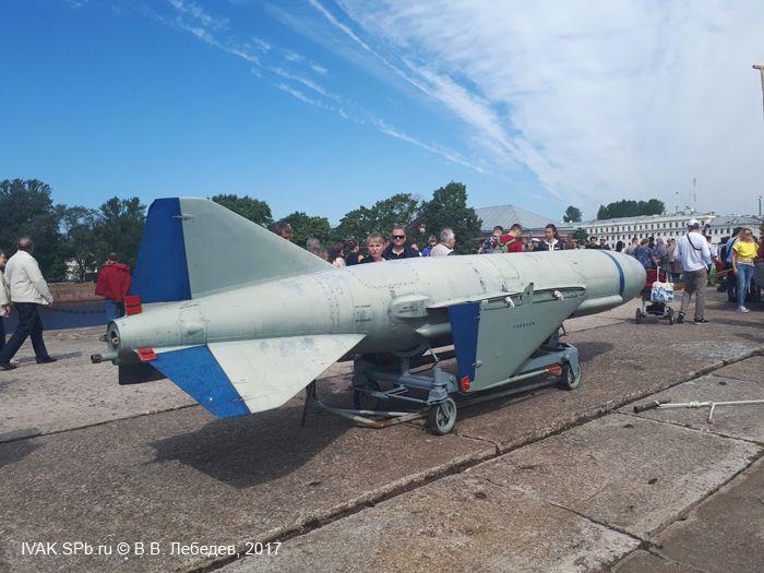 Противокорабельная крылатая ракета на моле ВМБ Кронштадта
