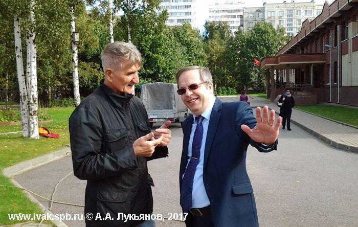 Члены Комиссии воздухоплавания Русского географического общества