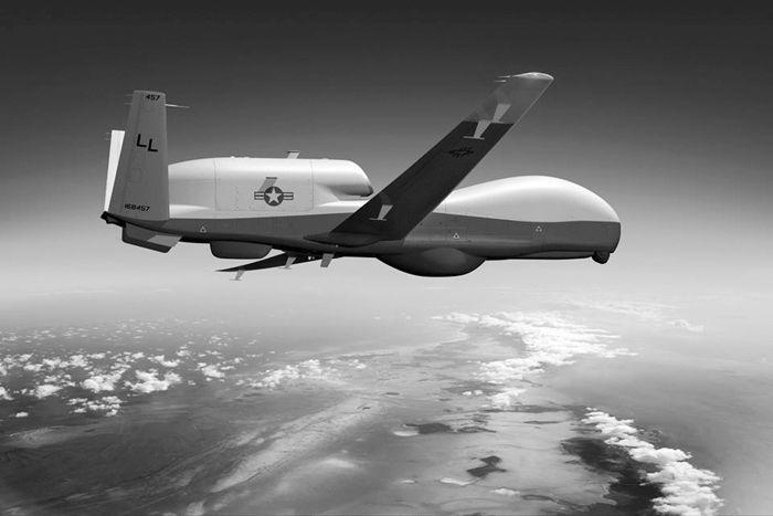 Беспилотный стратегический разведчик Global Hawk компании Northrop Grumman (США)