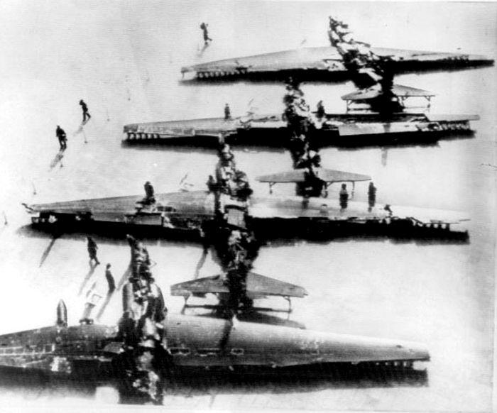Публичная демонстрация в Пекине в 1965 г. 4-х американских U-2, сбитых над Китаем. Три из них сбиты зенитчиками Юэ Цзэньхуа (Yue Zenhua). Фото из интернета и Albert Grandolini collection.