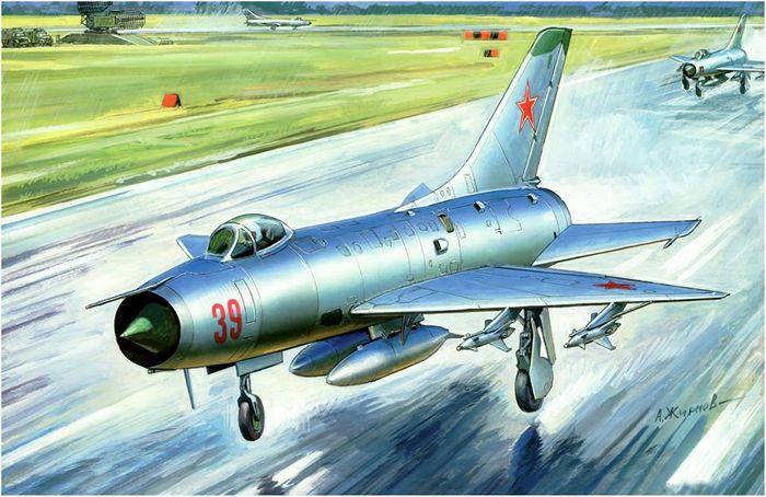 Самолёт-перехватчик Су-9
