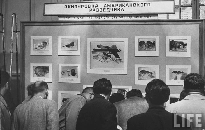 На выставке в Парке культуры и отдыха им. М. Горького в Москве