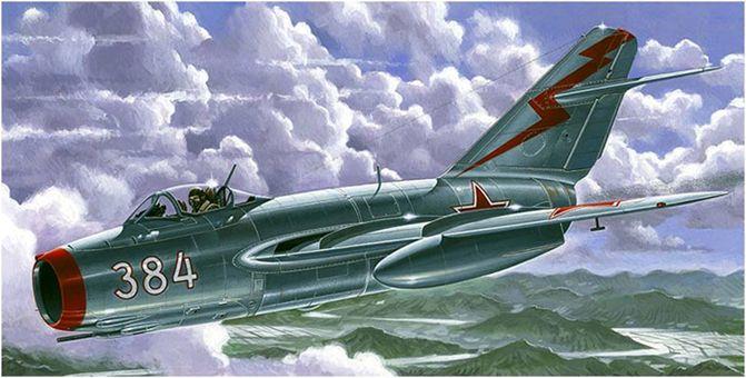 изображение самолета МиГ-15