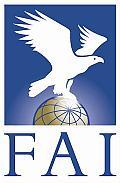 логотип ФАИ - международной аэронавтической федерации