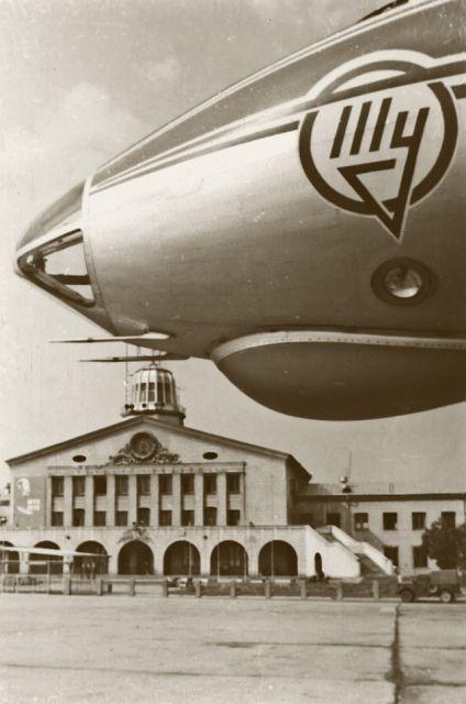 Первый реактивный Ту-104 в Вильнюсе