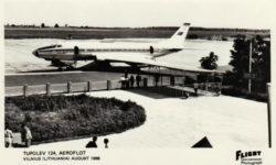 Ту-124 в аэропорту Вильнюса