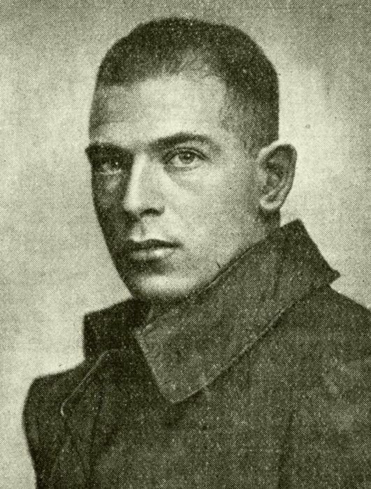 Портрет Макса Валье