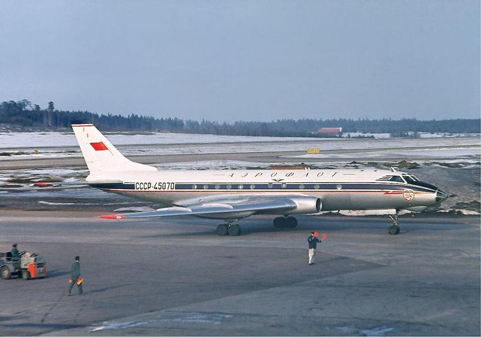 Самолёт Аэрофлота в Вильнюсе